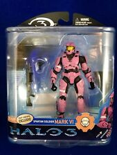 McFarlane Halo 3 Series 2 Pink Spartan Soldier Mark VI D&R Lineups Exclusive