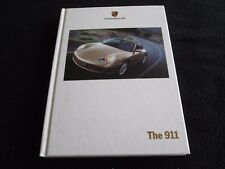 2000 Porsche 911 Carrera Euro Hardcover Brochure 996 C4 Coupe Cabriolet Catalog