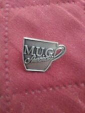 Collectible Starbucks 'Mug Awards' Apron Hat Lapel Pin Excellent Condition!