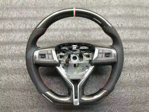 Customized Carbon fiber Car Steering Wheel For Maserati Ghibli Quattroporte GTS