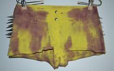 Sisley, Shorts, Mini, Punk Spikes, Yellow/Purple, Spill