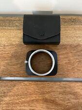 Konica Rectangular Lens Hood Shade 24mm 28mm MINT
