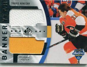 2020-21 SP Game Used Game Banner Jersey Travis Konecny BYJ-TK