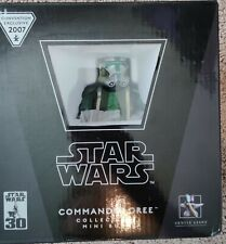 Star Wars Gentle Giant COMMANDER GREE Mini Bust 2007 Convention Exclusive