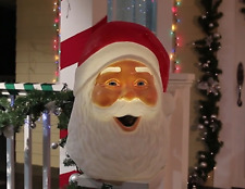 "22"" Animated Musical Talking SANTA Outdoor Christmas Yard Decor Porch Lighted"