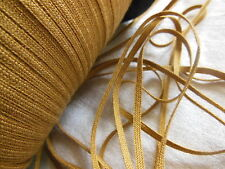 biais vintage ruban plat cordon fin camel lacet corsage 10 mètre