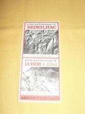 Bedeilhac Grotte Ariège  Tract Dépliant Prospectus Flyer Tourisme brochure