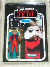 Vintage Star Wars 1983 AFA 80/85/85 NIEN NUNB ROTJ 65 BACK-B Kenner MOC UNPUNCH