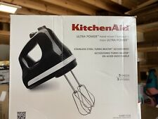KitchenAid Ultra Power 5-Speed Hand Mixer Black NEW OPEN BOX