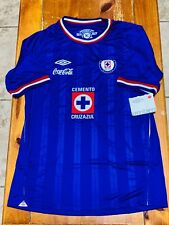 CRUZ AZUL UMBRO JERSEY 2010-2011 BRAND NEW HARD TO FIND