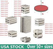 Diy Super Strong N35 Round Disc Neodymium Mini Fridge Magnets Rare Earth Craft