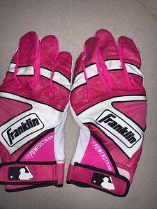 Franklin PowerStrap Pro Pink Batting Gloves XXL Mother's Day