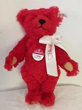 Steiff Baccarat Limited Teddy bear 2000 Doll stuffed Plush tag 10�