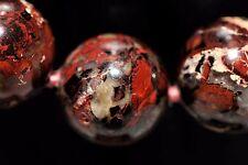 Spectacular Jasper Necklace Apr 16 mm Beads Apr 153 Grams Apr 17 in Length