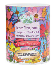 New listing Gifts That Bloom, Love You Aunt - Ocassion Day GroCan Blooms - Garden Grow Can