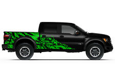 Vinyl Graphics Decal Nightmare Wrap for Ford F-150 Raptor SVT 10-14 Grass Green
