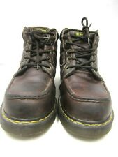 Dr. Martens Industrial Steel Toe Brown Boots Mans size 13M # 35