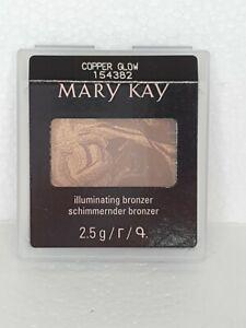 Mary Kay Illuminating Bronzer Compact Copper Glow 2.5g NIB