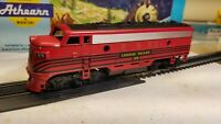 Athearn  Lehigh Valley F7 A non powered dummy locomotive train engine HO