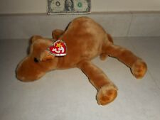 """Mint with Original Tag TY 11"""" Large Humphrey the Camel Beanie Buddy"""