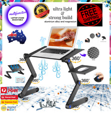 Strong Portable Foldable Laptop Stand Desk Table Tray Adjustable Sofa Bed Mouse