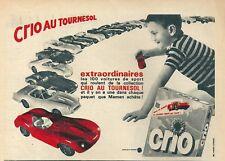 Publicité CRIO jouet voiture miniature 1967