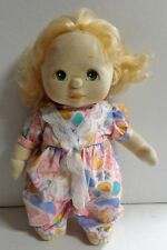 Vintage Mattel My Child Girl Doll Blonde Hair Green Eyes 1985