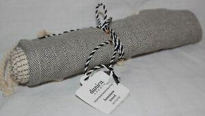 Danica Studios - Hamman Towel - Granite Diamond