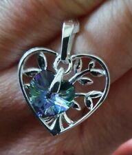 Swarovski Paradise Shine Heart, Sterling Silver Pendant By J Francis @ TJC