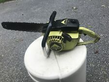 "Poulan chainsaw 400 65cc 17"" B/C Running Condition, As Is Rare Collector Saw,"