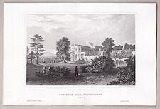 England, Irland, Éire, Sammlung Schlösser & Landschaften - 8 Stahlstiche 1845