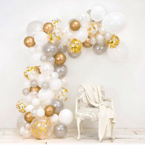 Wedding or Anniversary Party DIY Balloon Arch Kit - Includes over 120 Balloons