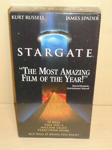 Stargate (VHS, 1995) Kurt Russell & James Spader - New & Sealed!