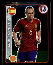 Panini Euro 2016 (Swiss Star Edition) Andres Iniesta Spain No. 373