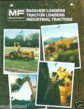 Equipment Brochure - Massey Ferguson - Tractor Loader Backhoe Prod Line (E2494)