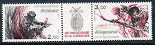 STAMP / TIMBRE FRANCE NEUF N° 2312/2313 ** / T2313A RESISTANCE ET DEBARQUEMENT