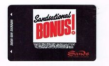 Las Vegas SANDS Casino Hotel SLOT CARD Players Club SANDSATIONAL BONUS