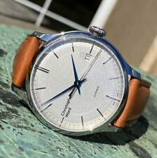 Christopher Ward C5 Malvern Mk III White Automatic Wrist Watch 39mm