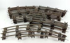 American Flyer S Gauge Lot of 40 Pieces of Curved Track