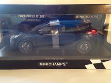 Minichamps FORD FOCUS ST  Black Metallic 2011 New 1:18 Scale 110 082000