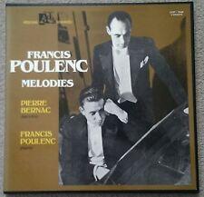 Melodies (Pierre Bernac) : Frances Poulenc