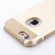 Gold iPhone 6S Plus Case Hybrid Hard Heavy Duty Dual Rubber iPhone 6 Plus Case