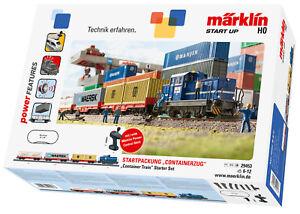 """Märklin 29453 Start up Startpackung """"Containerzug"""" mit Diesellok DHG 700 NEU OVP"""