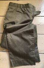 Aquascutum trousers, 38L, green, Vgc