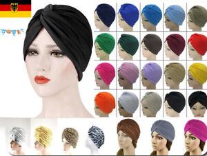 Turban Mütze Damen Haarband Hut Kopfbedeckung Chemo Tuch Kopftuch Cap Unisex