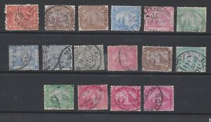 Egypt 1874-1888 Used Part Sets Definitives Pyramid & Sphinx Postes Egyptiennes