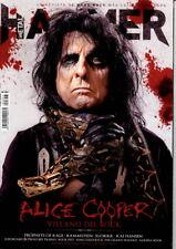 LAST IN STOCK! Metal Hammer Magazine 357 + 2 Posters August 2017 ALICE COOPER