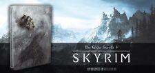 Esclusivo Skyrim Rimasterizzato EDIZIONE SPECIALE STEELBOOK caso G2 NO GIOCO
