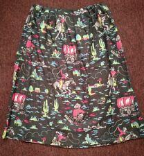 Genuine CATH KIDSTON Cowboy slub midi bark cloth Skirt Size 12 (14) NE with Tags