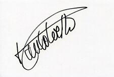 AUTOGRAPHE SUR BRISTOL de Paulo COELHO (index card signed in person)